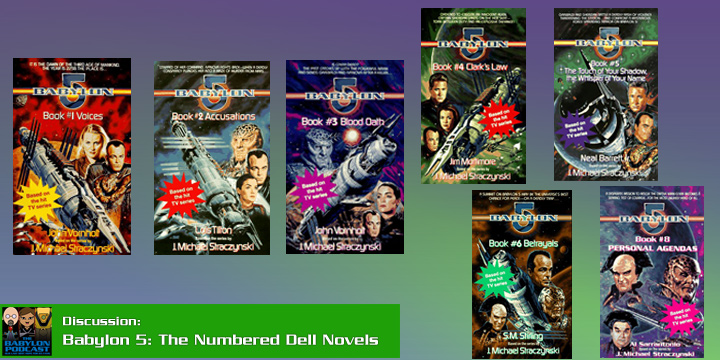 Babylon Podcast #269: Chatting about Babylon 5 Novels, #1-6, 8
